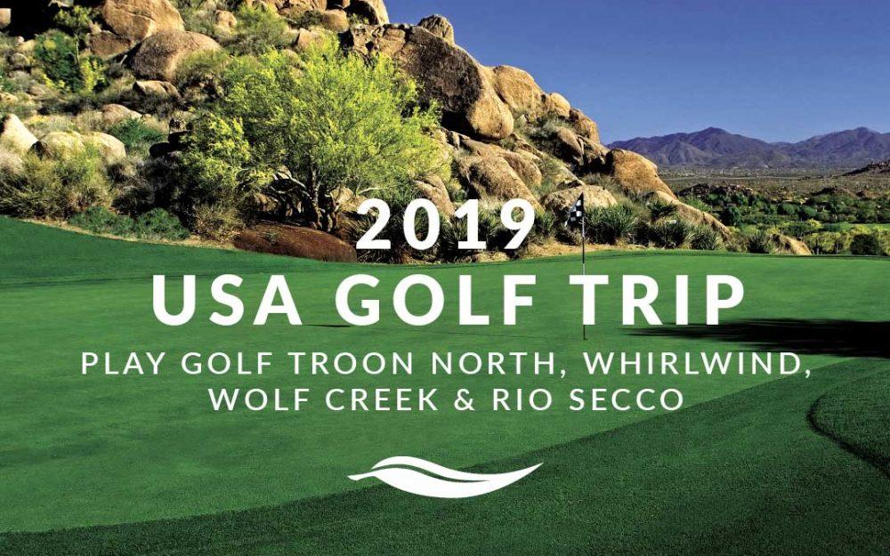 2019 USA Golf Trip