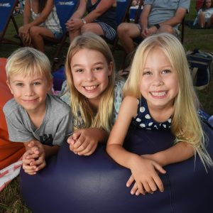 Brookwater's First Cinema Under the Stars a Big Hit for Residents